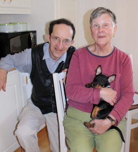 """Norribäcks Ansgar-Oknytt """"Birk"""" har flyttat till Bengt och Ingrid Fahlgren i Bollnäs. Han är en efterlängtad familjemedlem som kommer vara sällskap på deras promenader och hänga med på äventyr till deras sommarstuga!"""